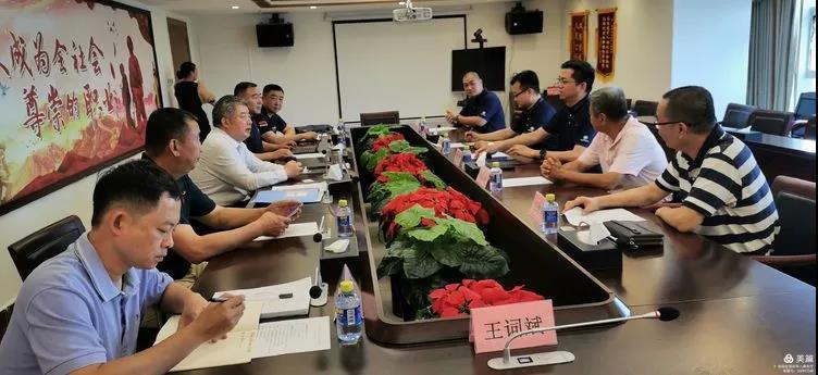 北汽福田汽车股份有限公司秦志东 到访省退役军人事务厅